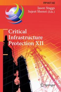 Critical Infrastructure Protection XII