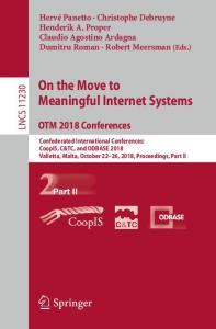 On the Move to Meaningful Internet Systems. OTM 2018 Conferences
