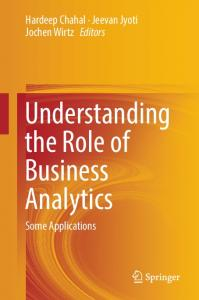 Understanding the Role of Business Analytics